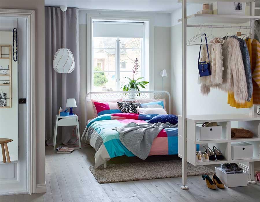 أفكار للمساحات الصغيرة في غرف النوم احكي