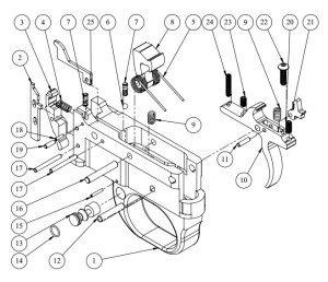 Ar 15 Trigger Assembly Exploded Diagram  Best Place to