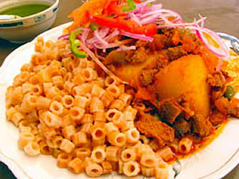 Cocina Boliviana Majadito