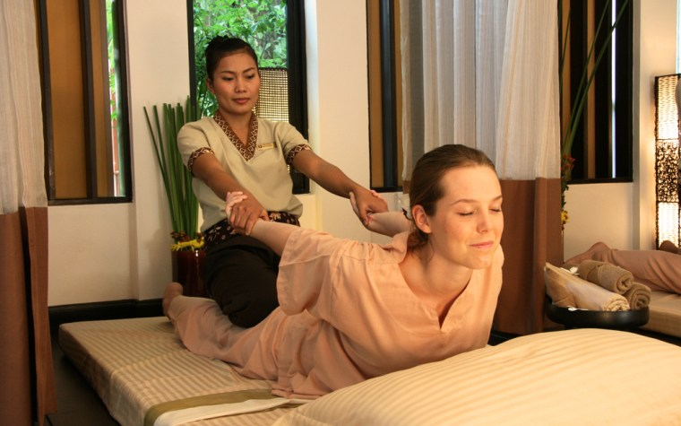 Thai Massage – clear your mind and body.