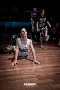 Yoga stretch:) - IBE 2013