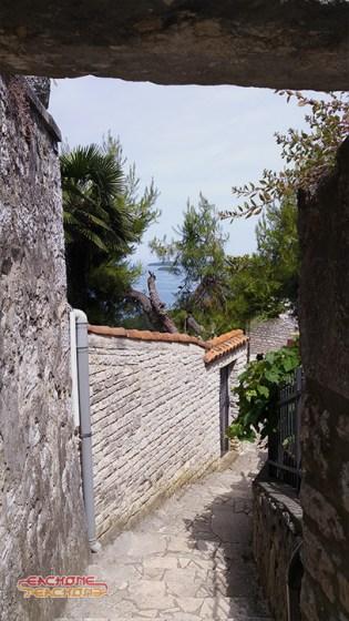 Small streets of Vrsar.