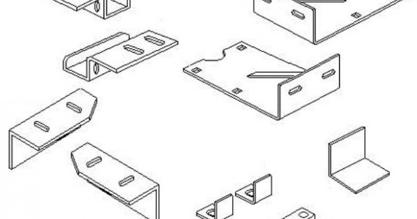 GOBI Jeep JK Roof Rack Adapter kit for AEV Rear Bumper