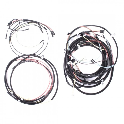 OMIX-ADA Jeep CJ2A 46-49 Wiring Harness (Horn on Firewall