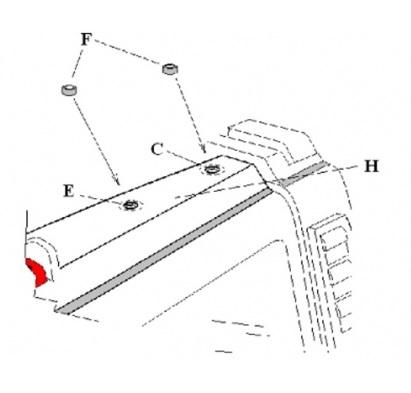 GOBI Hummer H2 Rear Ladder