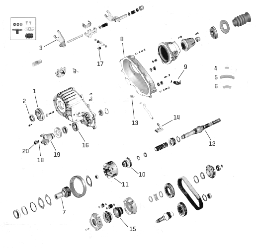 Np242 Wiring Diagram. Np241 Diagram, Ax15 Diagram, 45rfe