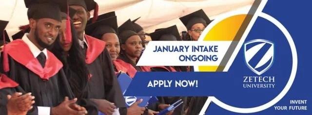Zetech University, ZU Kenya Admission and Application Forms