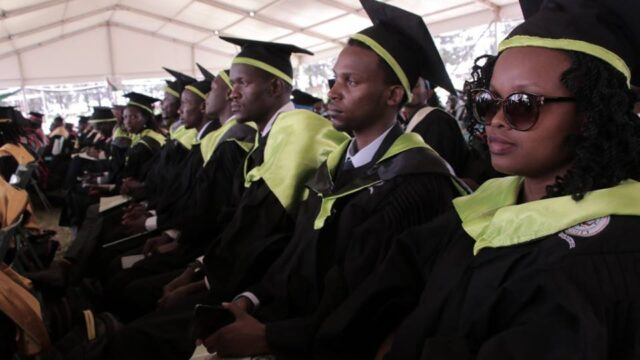 Moi University, MU 37th Graduation List: 2018