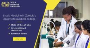 Texila American University Zambia, TAUZ Admission Requirements: 2019/2020