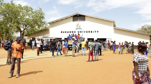 Rusangu University, RU Admission Requirements: 2019/2020