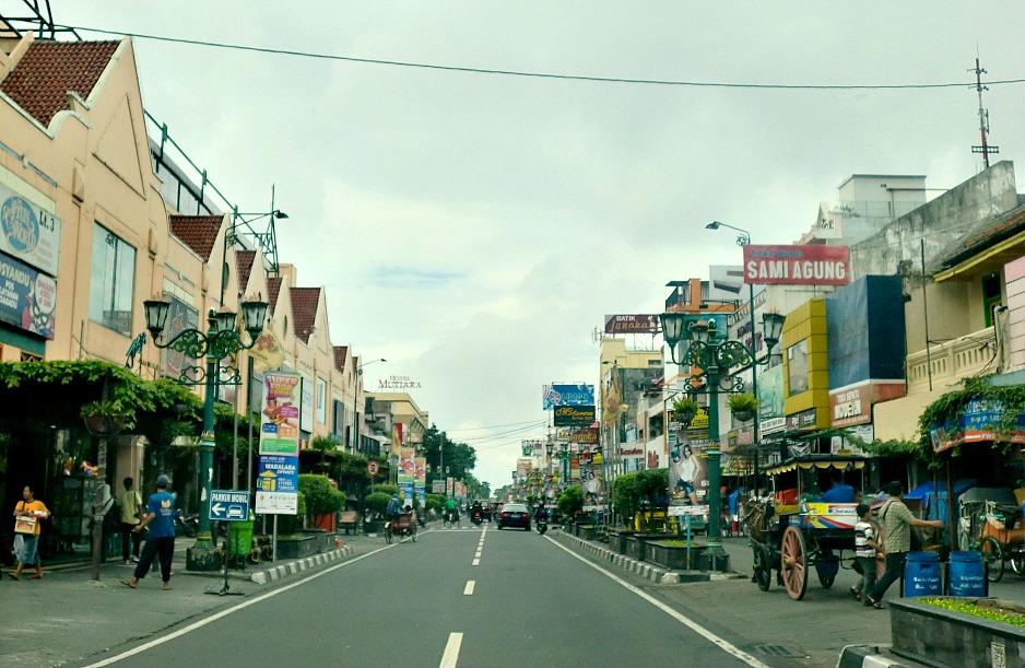 Jalan Malioboro, Yogyakarta, Indonesia