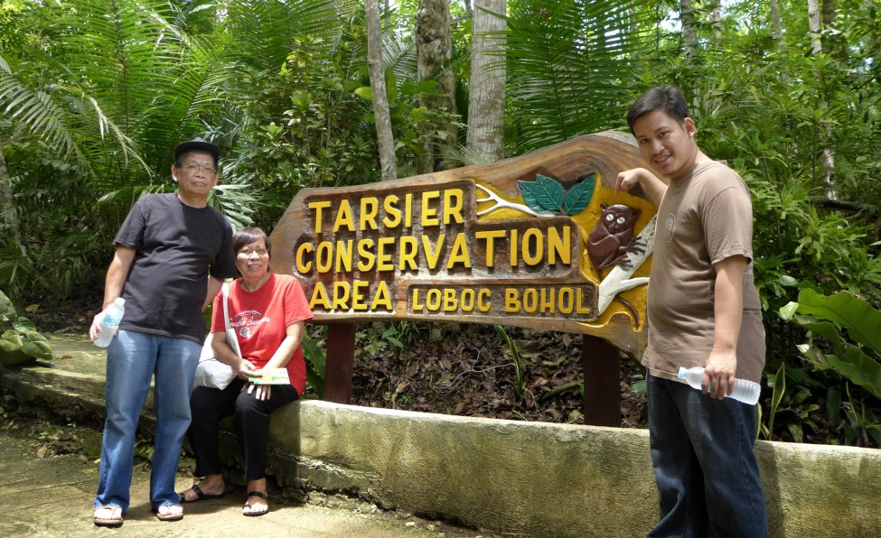 Tarsier Sanctuary, Loboc, Bohol; Bohol Countryside tour; D.I.Y. Bohol; What to see and do in Bohol; Bohol attractions