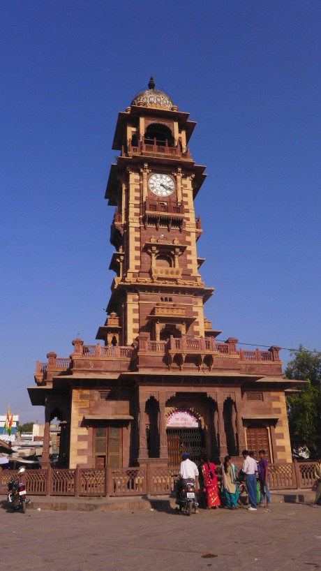 What to Do in Jodhpur, India; Backpacking India; Backpacking Rajasthan and Agra; D.I.Y. Rajasthan; D.I.Y. Jodhpur; Clock Tower
