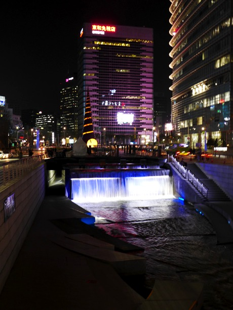 Cheonggyecheon Stream, Seoul, South Korea