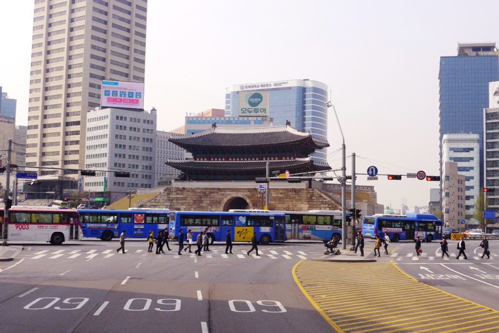 Seoul City Sightseeing Tour Bus Panorama Course, Seoul, South Korea