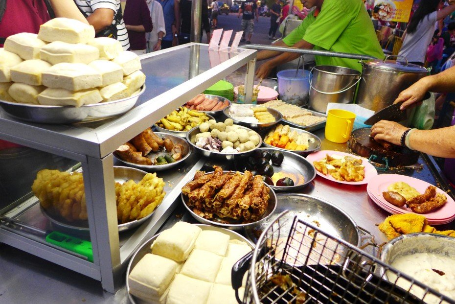 New Lane Hawker Center; D.I.Y. Penang food tour; Penang food and travel guide