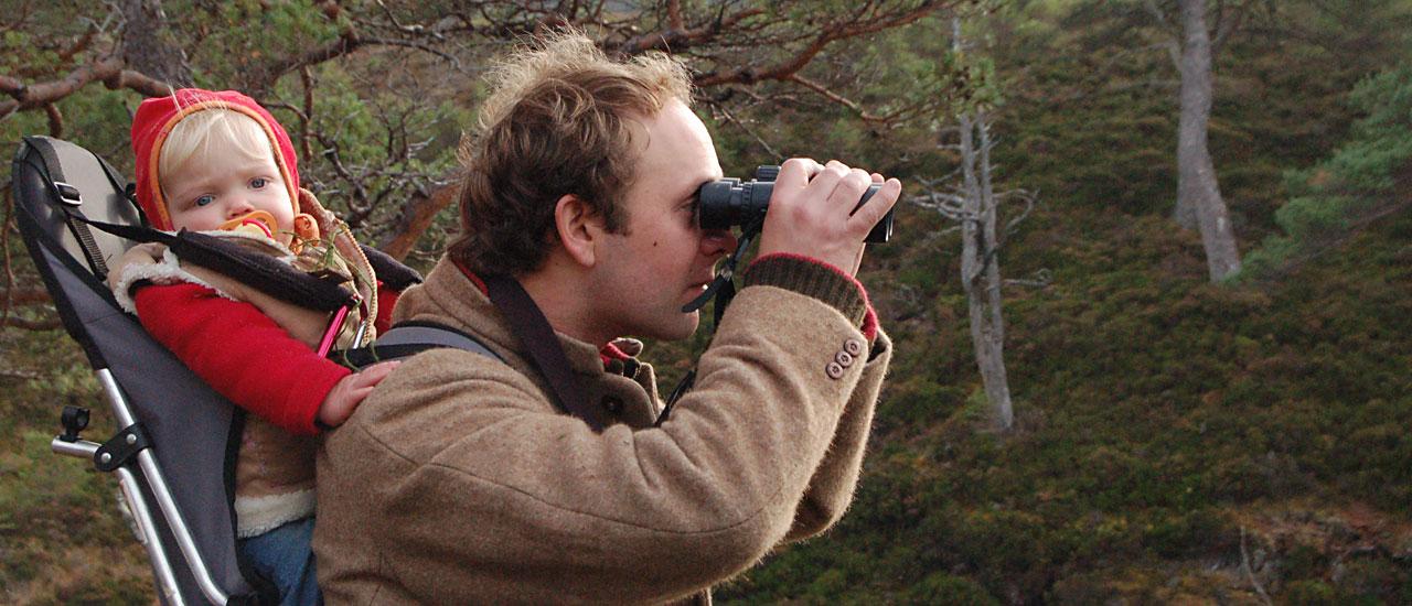 Bird Watching in the Highlands of Scotland