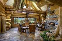 Log Cabin Mansion Homes