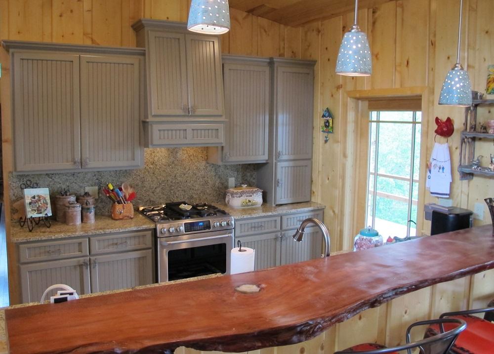 Hampton Cameo Cooper Kitchen  Eagle Cabinets