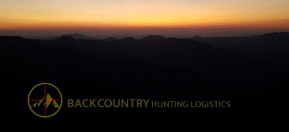 BackCountry Hunting Logistics