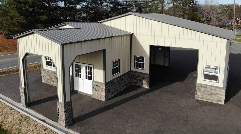 Custom Metal Garages Premium Metal Buildings Eagle Carports