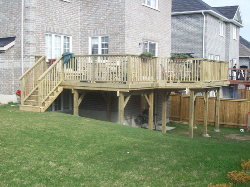 Two Tier Deck