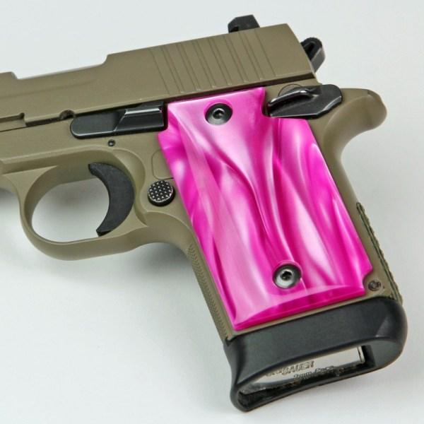 Kimber Micro .380 Atomic Pink Kirinite Grips