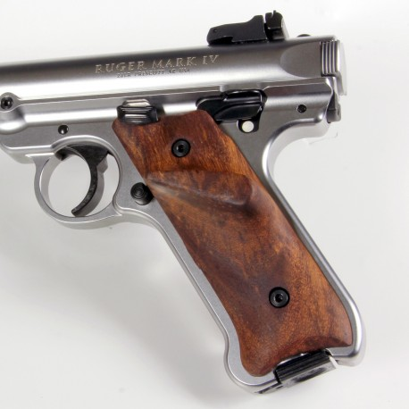 Ruger Mkii Thumbrest Rosewood Grips