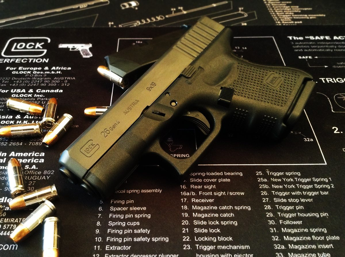 hight resolution of maintaining your glock