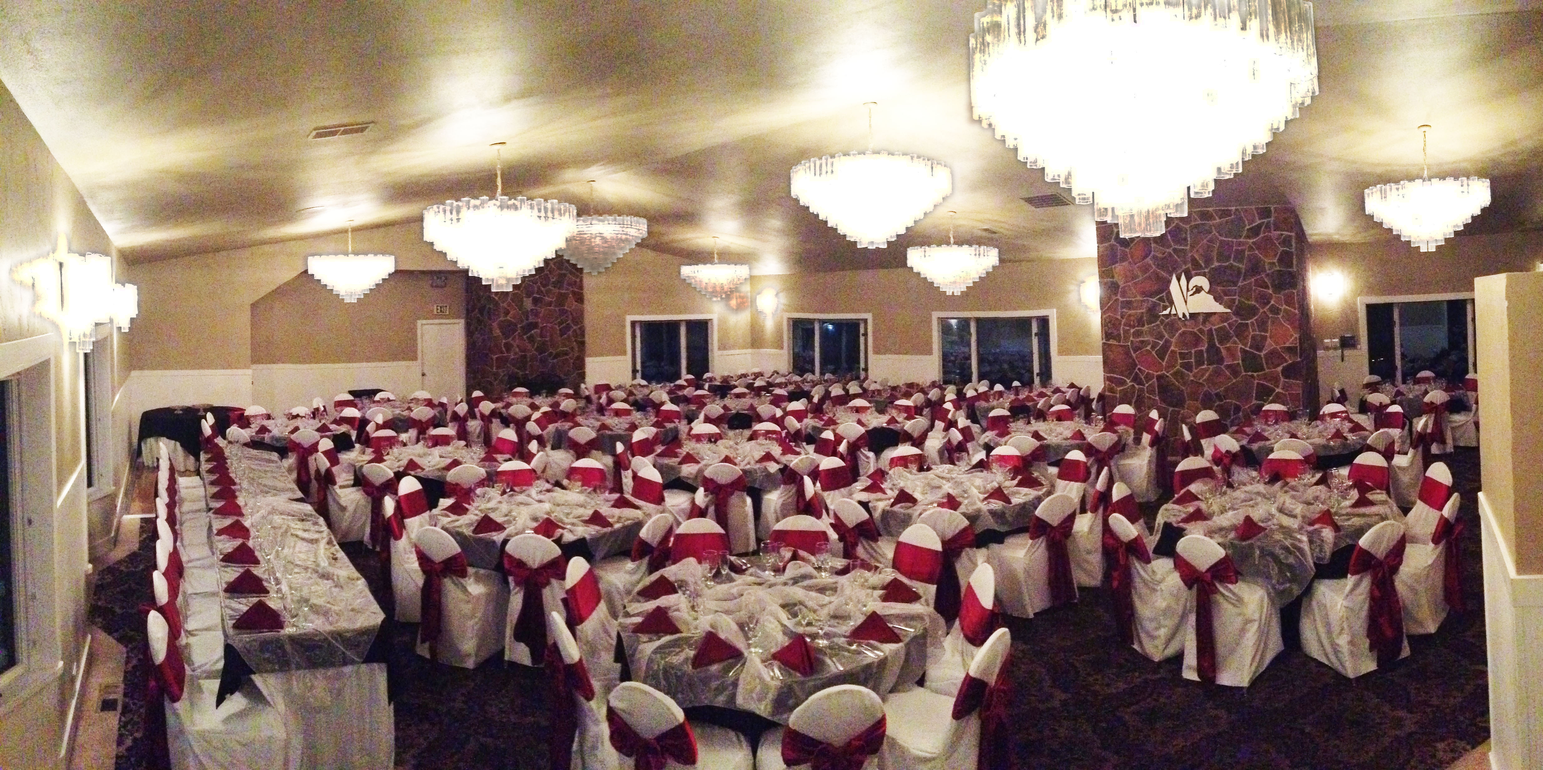 burgundy chair covers wedding padded chairs for sale weddings at eagle hills golf course