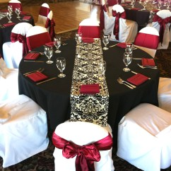 Chair Covers At Wedding Reception Turquoise Lounge Cushions Weddings Eagle Hills Golf Course