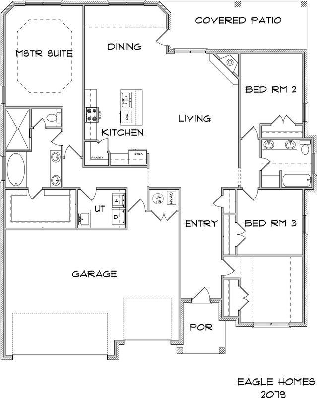 White Eagle Homes Floor Plans