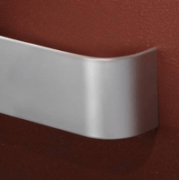 "4"" Aluminum Chair Rail Wall Guard"