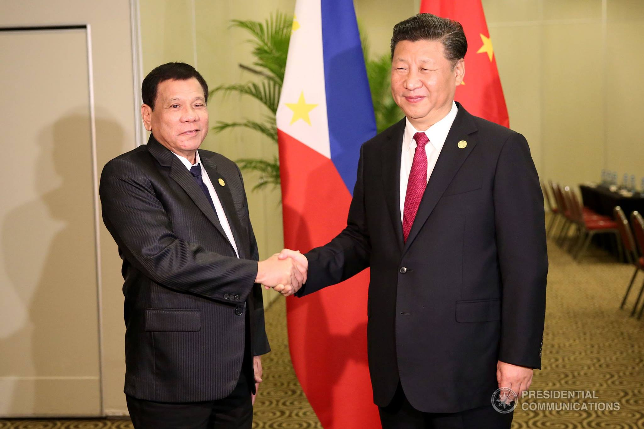 Image result for Duterte, Xi Jinping, photos