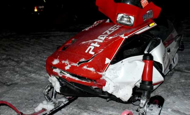 One dead in Caz snowmobile accident