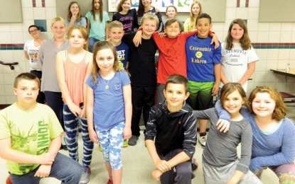 Caz students collect and donate school supplies to those in need