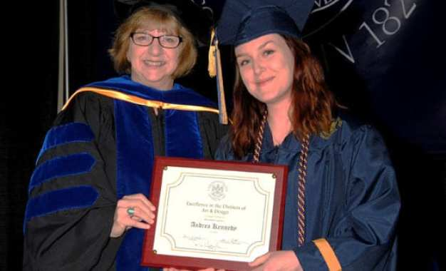 Kennedy receives award from Cazenovia College