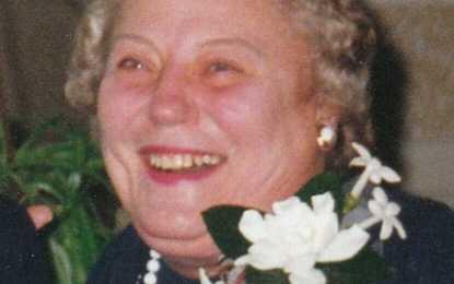 Olga Hluchy, 82