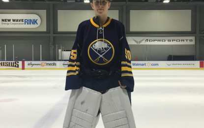 Manlius teen picked to play for Buffalo Junior Sabres