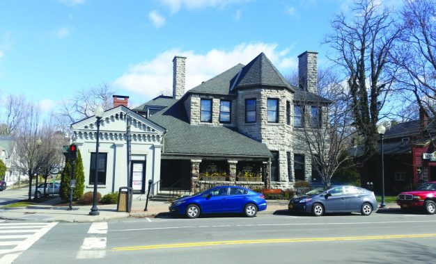 At the Skaneateles Library