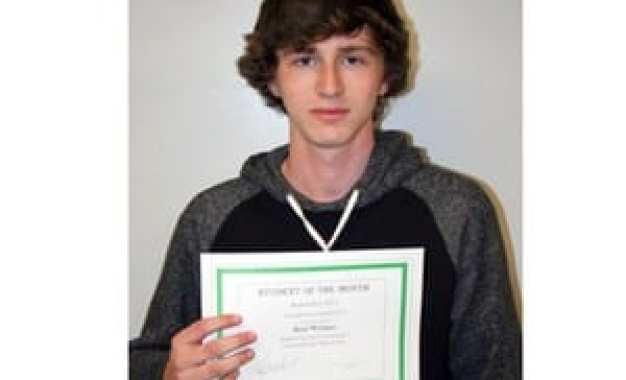 JE student named Cayuga-Onondaga BOCES student of the month