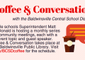 Coffee and Conversation, Nov. 9: Cardamone on curriculum