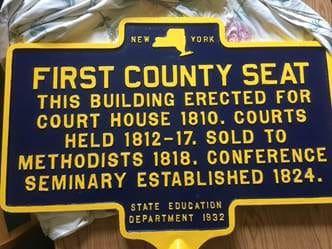 Caz college historic marker