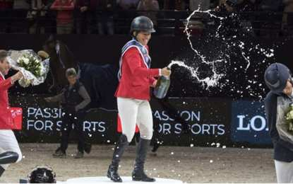 Beezie Madden wins Longines FEI World Cup