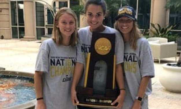 Three Caz alum on national champion lacrosse team