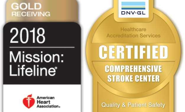 Crouse Health earns designation, receives award