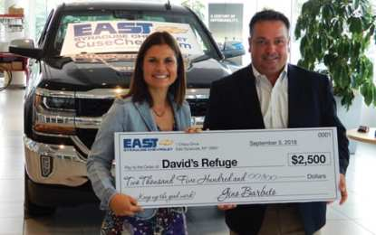 East Syracuse Chevrolet raises $2,500 to support special needs families
