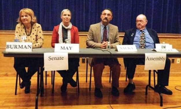 Assembly, senate candidates debate at LWV forum