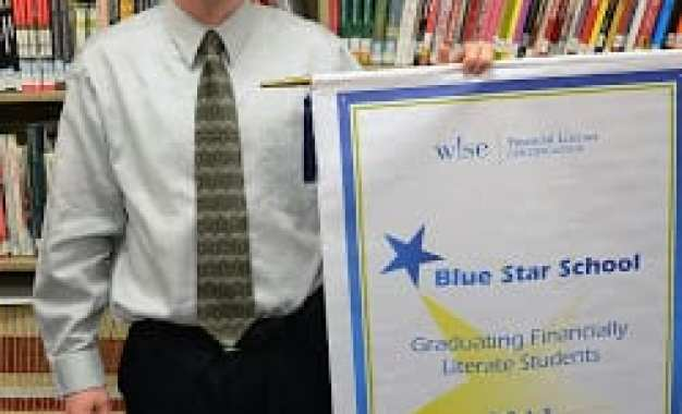 Marcellus school earns Blue Star