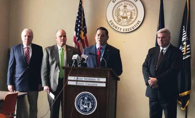 County executive, Fayetteville mayor announce village enhancement program
